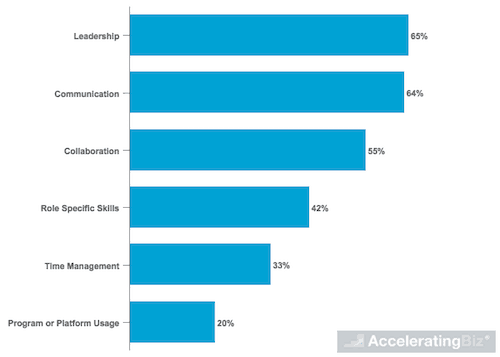 Most Important Skills for Employees to Learn from Learning and Development Programs According to Executives